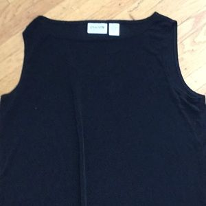 Chico's black dress and matching Size 1